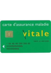 Vitale card for Quality Medical Transport in Seine and Marne
